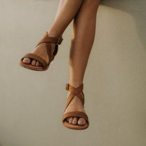 Ladies Genuine Leather Sandals
