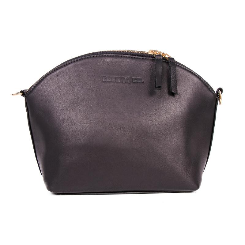 153999283 Klassik Crossbody Bag - Genuine Leather Ladies Bag Black
